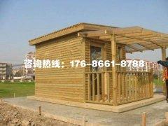 防腐木板屋的特点和结构
